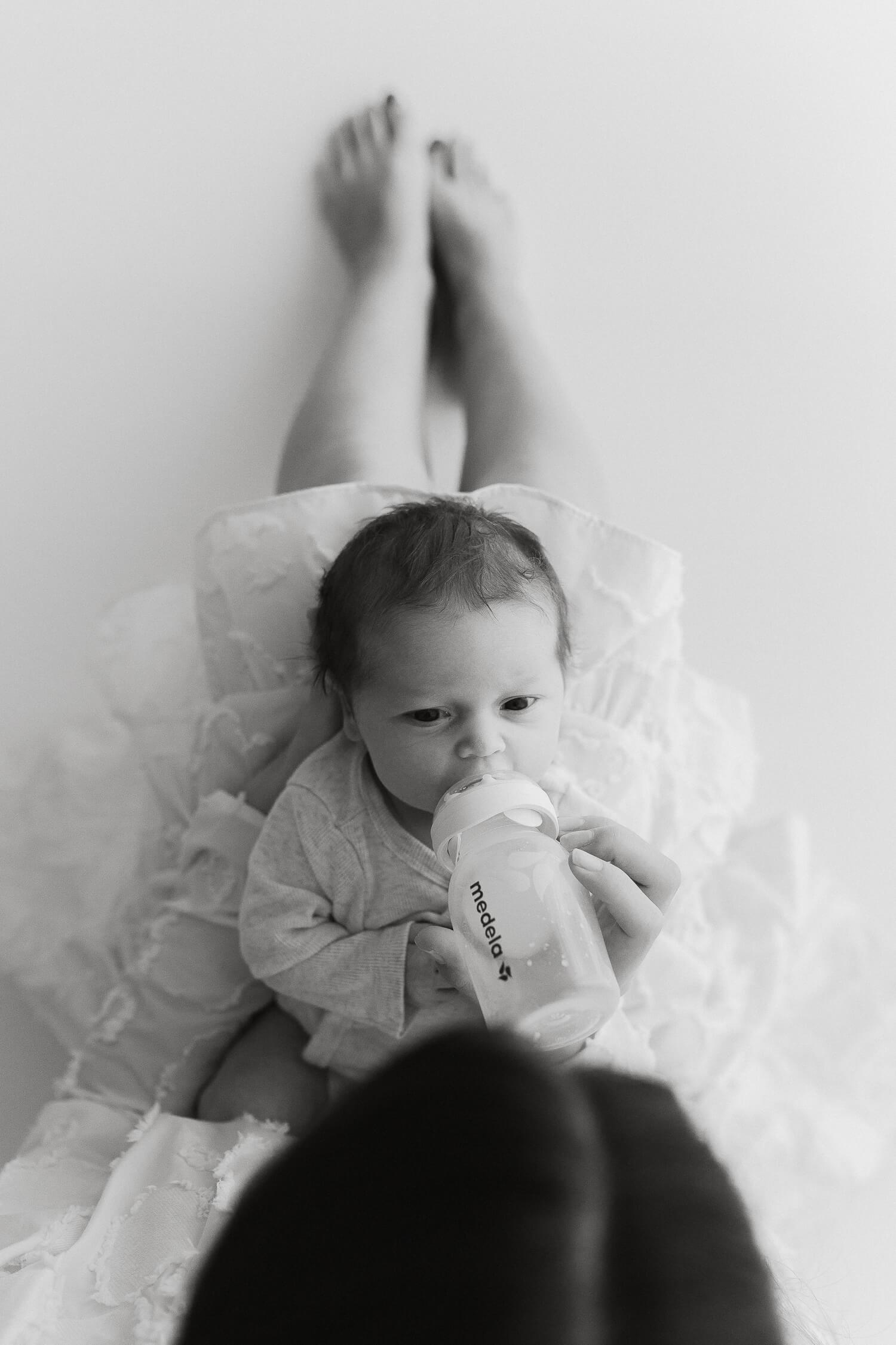 Helia Visuals workshop - ajatonta newbornkuvausta oppimassa. 31